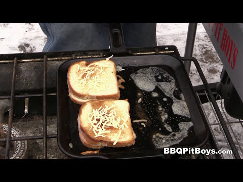 Grilled Cheese Bacon Burger