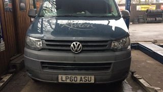 Volkswagen Transporter T5 2.0 TDI  EGR COOLER Replacement and post-mortem