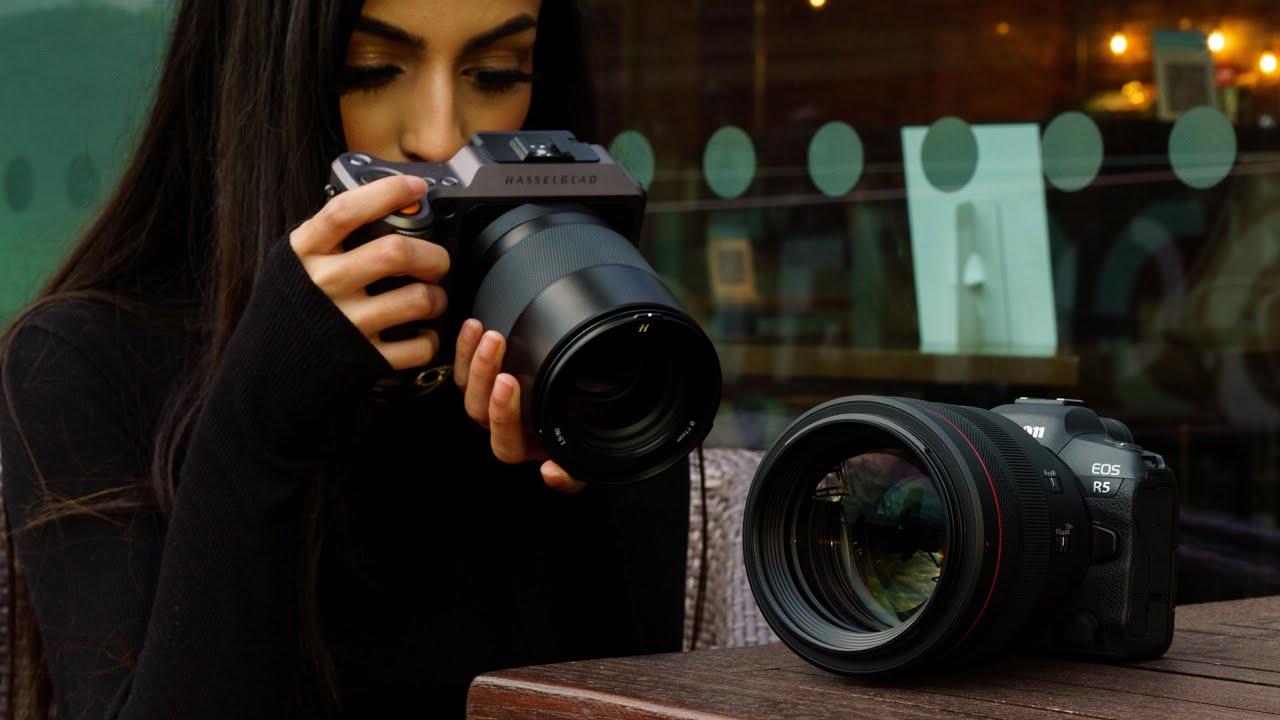 Full-Frame Outperforms Medium Format - Canon RF 85mm f1.2 vs Hasselblad 80mm f1.9 (X1D II vs EOS R5)