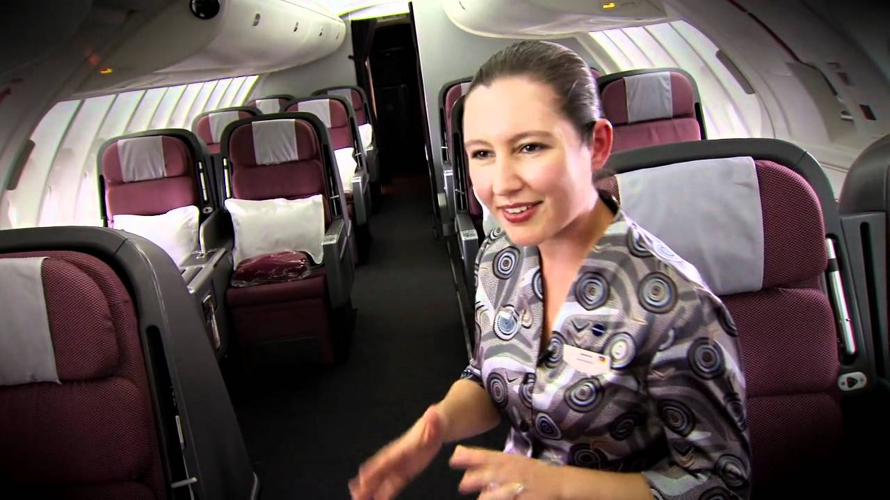 Qantas Welcomes Our Fifth Refitted B747 400 Aircraft Youtube