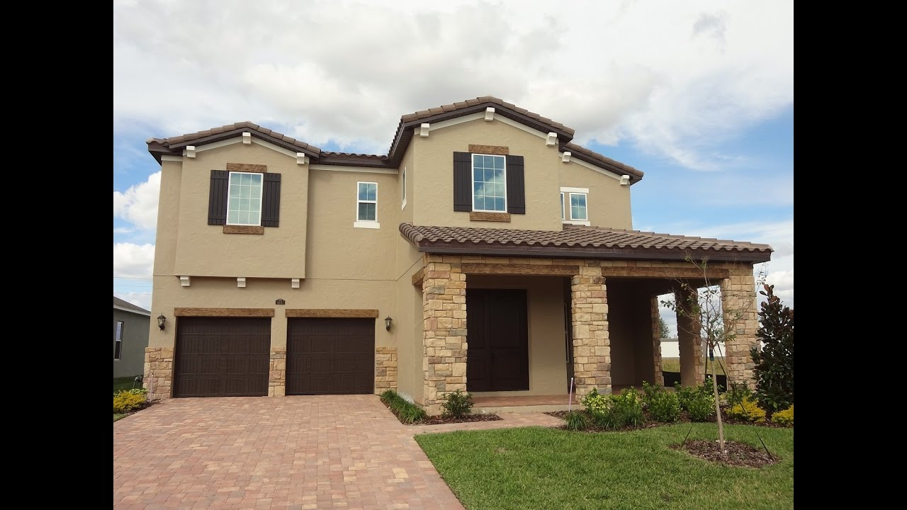 Winter Garden New Homes Twinwaters By Meritage Homes