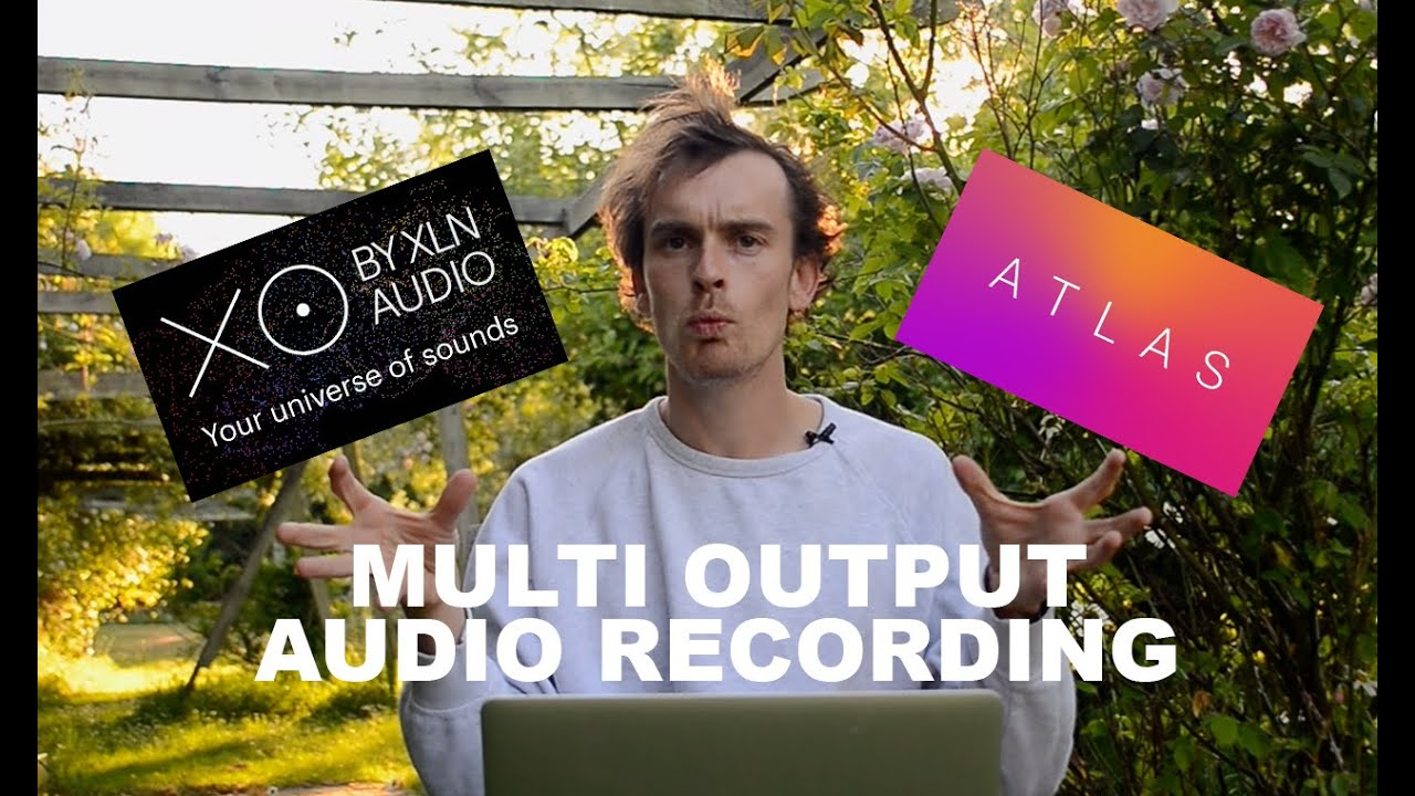 Multi Output Audio Recording In Bitwig (Ft. Atlas & XO)