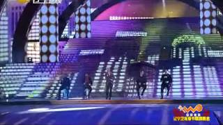 Backstreet Boys on Chinese Spring Festival - As Long As You Love Me (Liaoning TV)