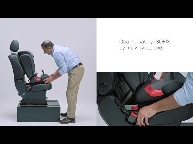 Instalace autosedačky KIDFIX 2 R do auta| Britax Römer CZ & SK