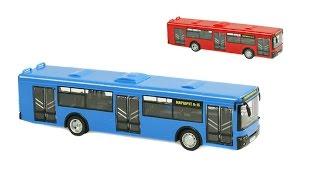 Автобус інерційний 9690AB ''АВТОПРОМ'', оголошує зупинки