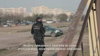 Funkcjonariusze musieli użyć siły by wejść do lokalu z nielegalnymi automatami! [Nic do zgłoszenia]