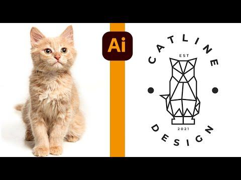 Minimal Logo Tasarımı (Geometric) Adobe illustrator Dersleri thumbnail