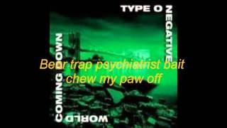Type O Negative Who Will Save The Sane lyrics