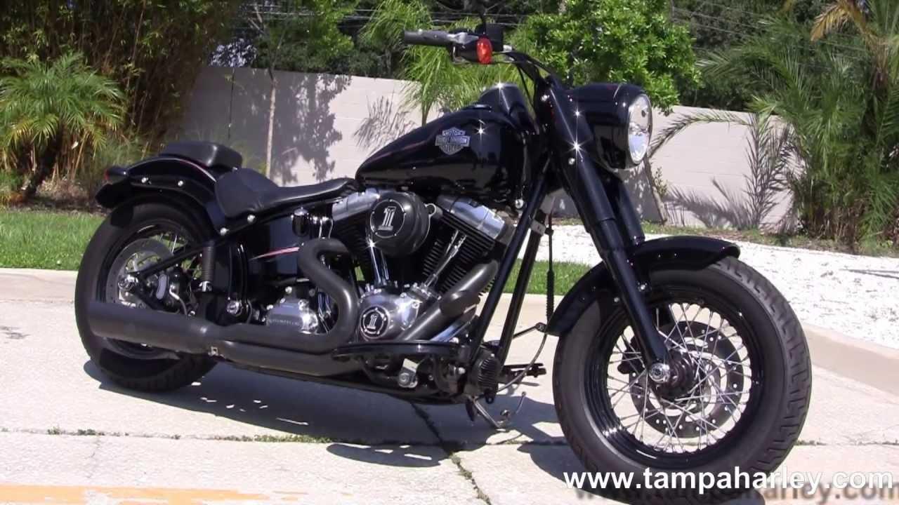used 2012 harley davidson bikes for sale fls softail slim doovi. Black Bedroom Furniture Sets. Home Design Ideas