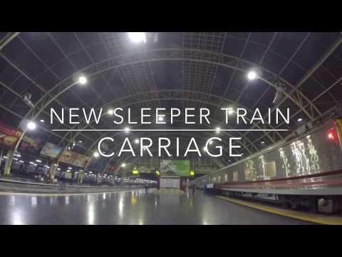 How to travel Thailand: New Sleeper Train (タイの新型寝台車)