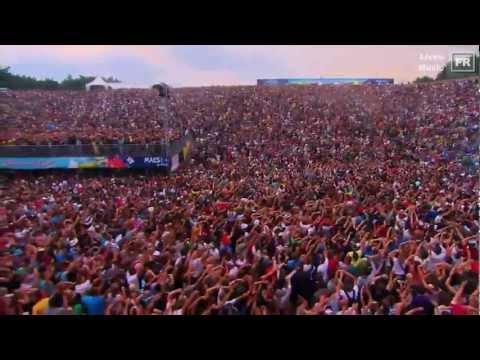 David Guetta  Congorock  Balon + I Gotta Feeling TOMORROWLAND