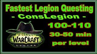 видео character leveling 100-110