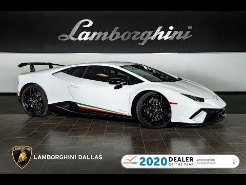2018 Lamborghini Huracan Performante Bianco Monocerus LT1343