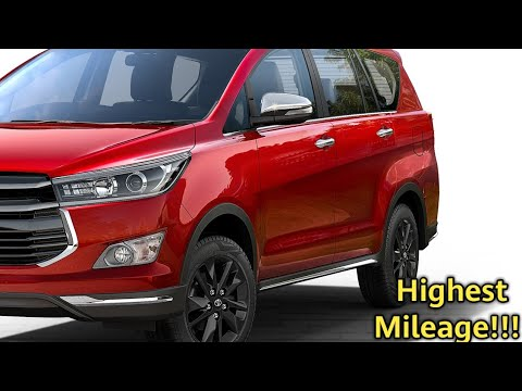 Top 6 Highest Mileage 7 Seater Cars In India 2020 Petrol Youtube