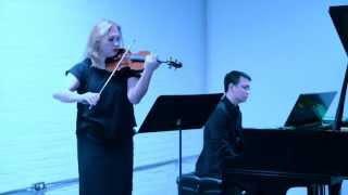 Carissa Klopoushak & Philip Chiu: Vivier's Pièce pour violin et piano