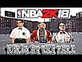 NERD'S PLAY BASKETBALL AT THE PLAYGROUND NBA2K18