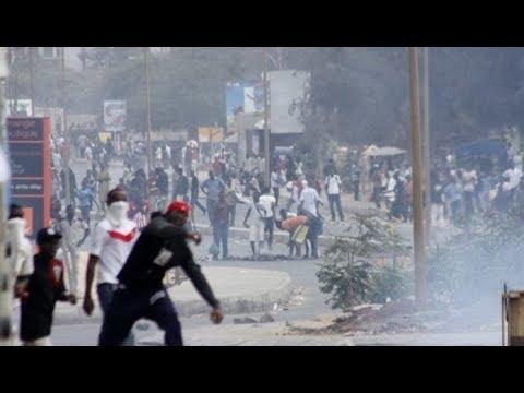 Après la mort de l'étudiant Fallou Sène à l'UGB, violentes manifestations à l'UCAD de Dakar