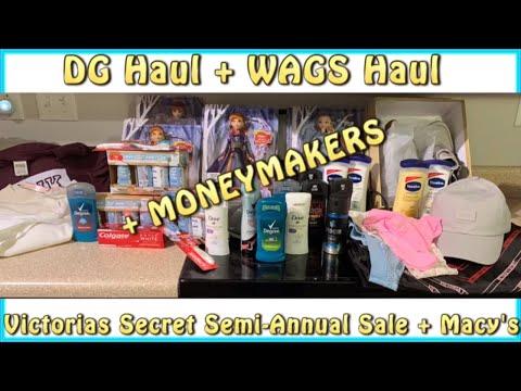 🤑AMAZING Dollar General Haul + Walgreens Haul 1/12 + VS Semi Annual Sale!+ MONEYMKERS + DG Scenarios