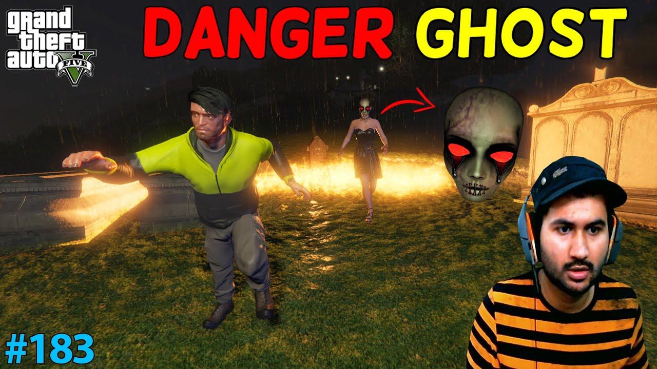 GTA 5 : DANGER GHOST ATTACK ON TREVOR | GTA5 GAMEPLAY #183