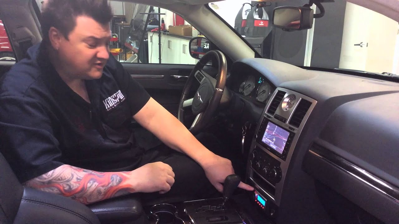 Chrysler 300 System Install And Vehicle Wrap