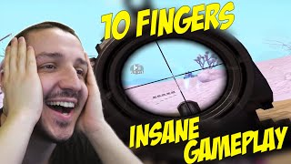 REACTIONEZ la *CEL MAI BUN JUCATOR* pe SNIPER - JaNo - 10 Fingers - INSANE GAMEPLAY
