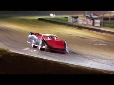 Bobby Pierce Racing.  2016 World 100 Car test at Spoon River Speedway