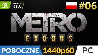 Metro Exodus PL  #6 (odc.6 Poboczne) ❄️ Zakładnicy | Gameplay po polsku 4K RTX On