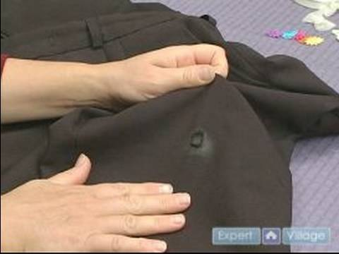 Tips for Clothing Repair with Patches : How to Patch Hole in Dress Pants