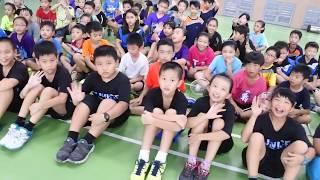 十全國小羽球隊 2017 暑期訓練 |頒發獎學金 |登發國小友誼賽 |空拍 DJI Mavic |震撼影像