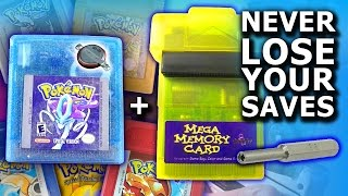 HOW TO BACK UP YOUR POKÉMON GAMEBOY COLOR SAVES & REPLACE THE BATTERY (Gold, Silver, Crystal, etc)