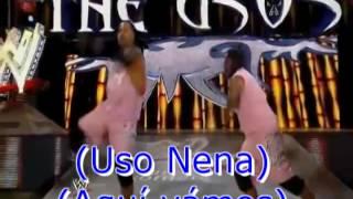 The Usos Haka Battle Subtitulada al español + English Lyrics [2016]