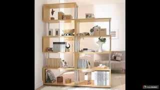 видео Стеллаж в квартире: как зонировать комнату с помощью стеллажа