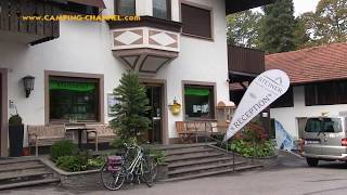 Camping Park Steiner in Leifers bei Bozen, Südtirol (Italien) Oktober 2017
