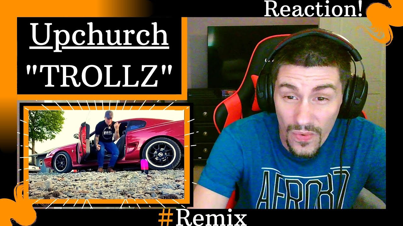 """Upchurch - """"Trollz"""" Remix [REACTION]   HE LITERALLY WENT IN ON THIS BEAT!!!"""