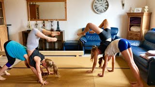 EXTREM Yoga Challenge Turner vs Nichtturner 🤣 und nächstes Fantreffen 💗 Haley's Turnwelt 💗