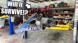 I Took My New GO KART To The RACES!! Crashes and Epic Battles!