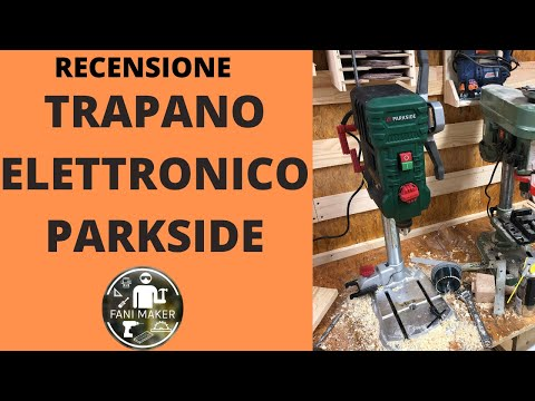 Ho provato il nuovo trapano a colonna elettronico Parkside PTBM 710 - recensione