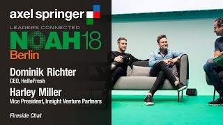 Fireside Chat Hello Fresh & Insight Venture Partners - NOAH18 Berlin