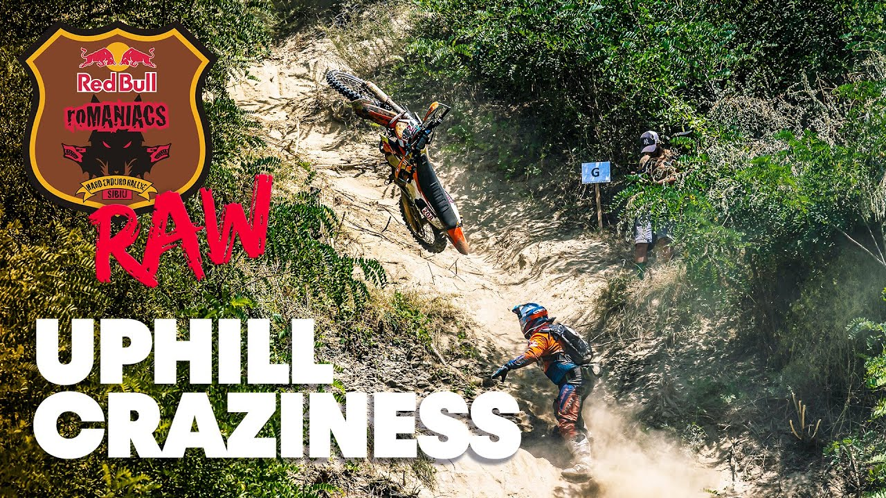 The Gnarliest Uphill Sections From the 2021 Red Bull Romaniacs