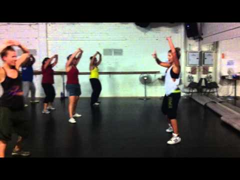 ZUMBA® with Lucy Carr, Tra Tra (merengue) 2012