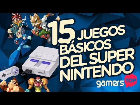 GamersTOP – 15 juegos indispensables del Super Nintendo