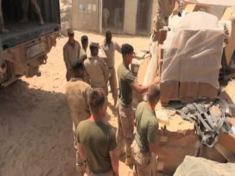 Logistics Train for 3rd Battalion, 2nd Marine Regiment