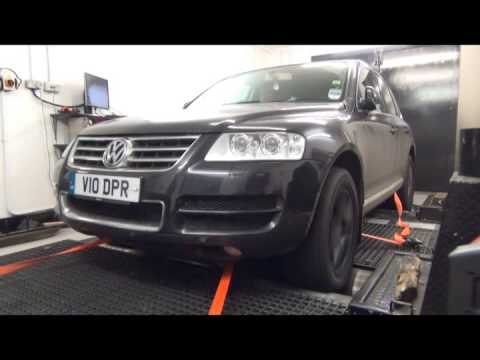 touareg v10 tdi short runs after successful remapping youtube