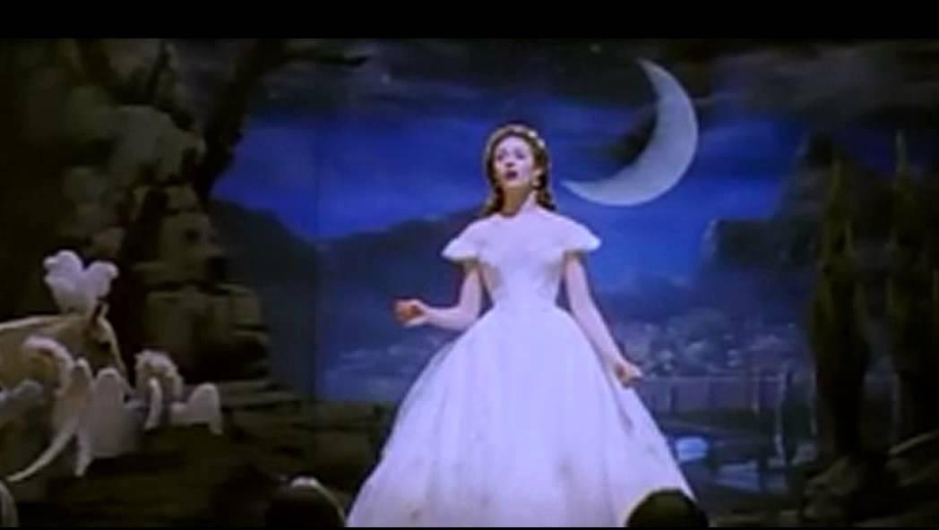 El Fantasma De La ópera Piensa En Mi Youtube