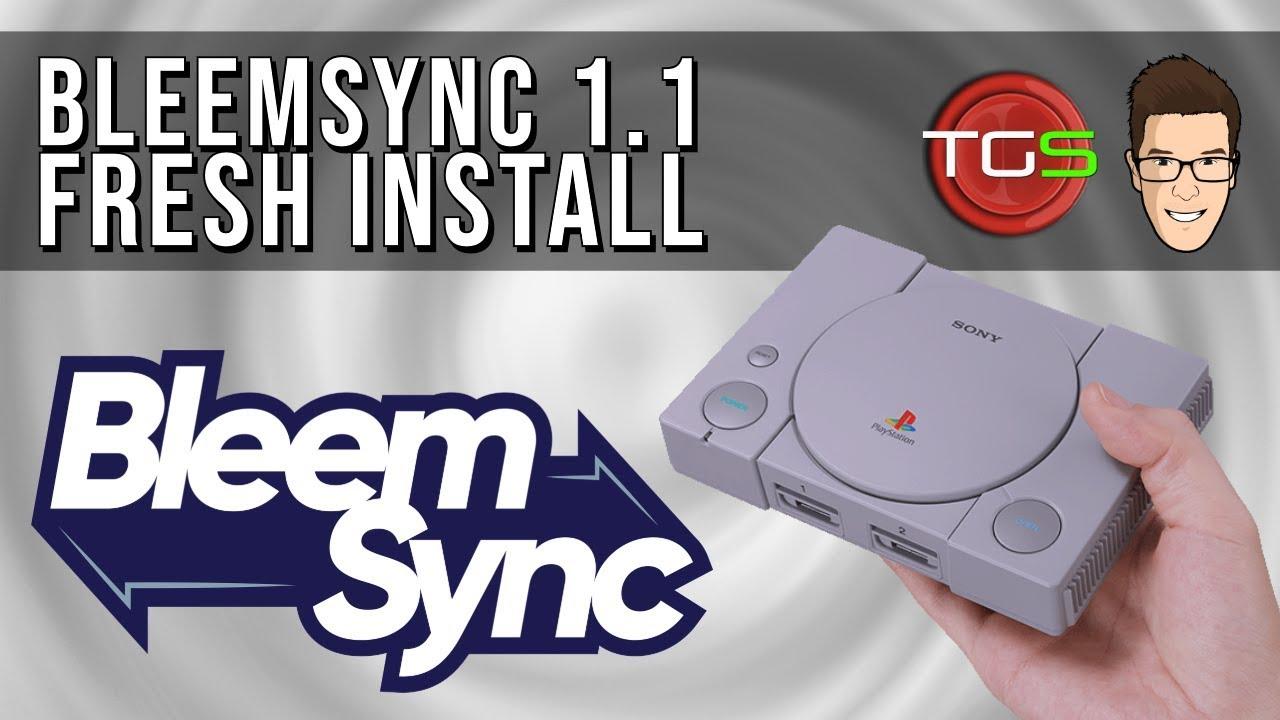 Bleemsync 1 1 Fresh Install Tutorial for PS Classic | USB 3 0 via