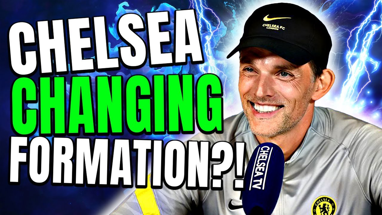 Thomas Tuchel Hints At NEW Chelsea Formation & Tactics? Possible Chelsea Formations!
