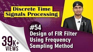 Frequency Sampling Method for FIR filter Design The frequency-sampl...