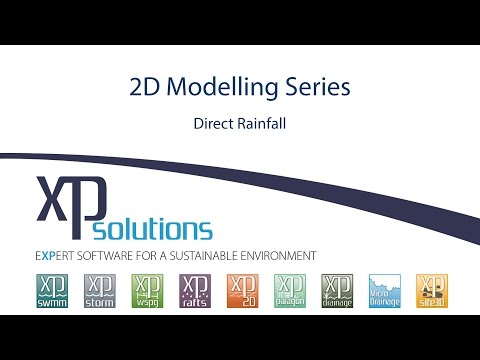 2D Modelling with Direct Rainfall