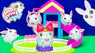 CHUBBY PUPPIES & FRIENDS Bunny Poem Rabbit Friend Flopsy Chubby Puppies Video Toy Review