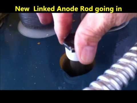 Water Heater  Maintenance Anode Rod Replacement